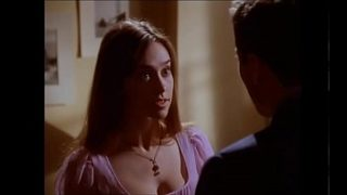 Jennifer Love Hewitt sexy Dekolleté-Downbluse, Party of Five S04E08 (kein Ton)