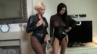 Lucy & Lilly Ballbusting